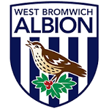 West Bromwich Albion football team badge - h